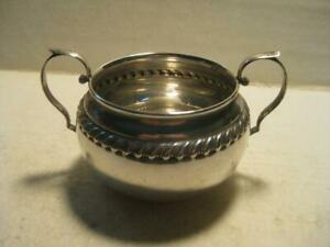 """Antique Sterling Silver Gorham 912 4 3/4"""" Sugar Bowl 82 Grams Not Weighted"""