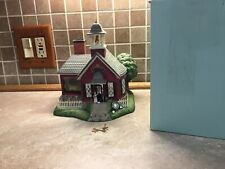 Vintage Partylite Olde World Village School House P7963 -