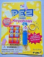 Pez Clown Mini Dispenser Keychain (Basic Fun 1998)  -new