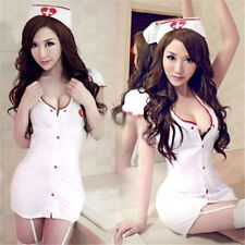 FD630 Women Costumes Cosplay Nurse Uniform Lingerie Fancy Dress Set Outfit ✿