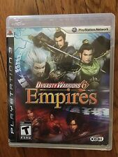 Dynasty Warriors 6: Empires  (Sony PlayStation 3, 2009) Complete