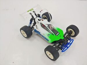 Rare Vintage Team Associated RC18B 1/18 4wd Buggy Brushed ARTR Used