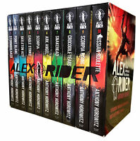 Alex Rider 10 Books Collection Box Set Anthony Horowitz Russian Roulette, Stormb