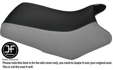 GREY & BLACK VINYL CUSTOM FITS YAMAHA BEAR TRACKER 250 SEAT COVER
