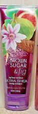 Bath Body Work Women 24 Hour Moisture Brown Sugar Fig Body Cream Lotion 8 oz 80%