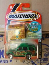 MATCHBOX HERO CITY -  LANDROVER DISCOVERY [GREEN] *12 CARS POSTED FOR $10*