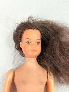 Rare Vintage 1976 Growing Up Ginger Doll 9222 Brunette Brown Eyes Barbie Fashion