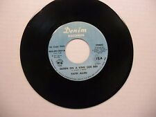 Faith Allen Mama/Queen On A King Sized Bed (DJ Copy) 45 RPM