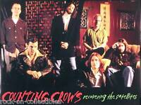 Counting Crows 1996 Recovering The Satellites Original Double Sided Promo Poster