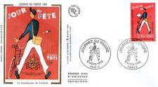 FDC - FRANCE 2792 - JOURNEE DU TIMBRE 1993 - FACTEUR
