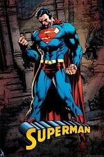 SUPERMAN STRONG POSTER (61x91cm) DC COMICS PICTURE PRINT NEW ART