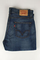 31628 Levi's Levi Strauss 512 Bleu Hommes Jean Taille 34/32
