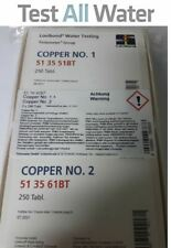 Lovibond Copper No 1/No2 Tablets Combi Pack 250 each