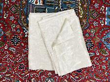 "American Living / Ralph Lauren Pair 2 Beige Cream Curtains Panels Drapes 87"""