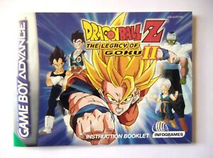 48672 Instruction Booklet - Dragon Ball Z The Legacy Of Goku II - Nintendo Game