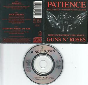 Guns N' Roses    CD-SINGLE  PATIENCE    3inch