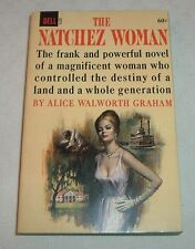 1963 DELL PB 1st Printing #6274 THE NATCHEZ WOMAN Alice Walworth Graham Murder