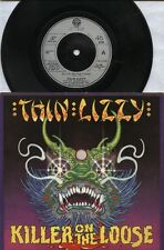"THIN LIZZY   Rare 1980 UK Only 2x7"" OOP Pock P/C Singles ""Killer On The Loose"""