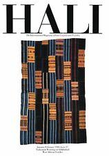 Hali Magazine: # 37 Jan-Feb 1988: Turkoman Weavings Ashkhabad West African Texti