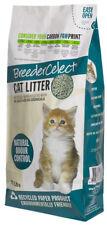 Breeder Celect Recycled Paper Cat Kitten Litter Clean Pellet 30ltr