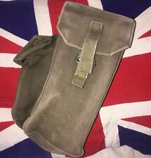 British army 58 pattern webbing ammo pouch with grenade pouch falklands issue