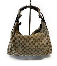 Gucci Horse Bit Tom Ford Era Hobo Bag Mint Condition Leather GG Canvas Handbag