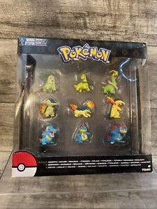 Tomy Pokemon Legacy 9 Figure Evolution Multi Pack gen 2 NEW Rare