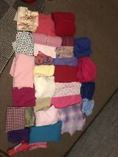 Homemade Scrunchies for sale. Many different colours and patterns