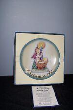 """""""Angels Light"""" 1990 By: Berta Hummel Collectors plate / Nib Coa"""