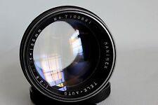 HANIMEX TELE AUTO 135 MM 1:2.8 FAST LENS M42 FIT + CASE MINT CONDITION (USED)