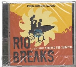 Rio Breaks CD ALBUM bande originale du film soundtrack JEFF KITE neuf