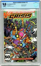 Crisis On Infinite Earths #12 DC 1986 CBCS 9.8 1st Wally West Flash = to Top CGC