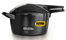 Futura 5 Ltr Hard Anodised Induction Base Pressure Cooker IFP50 By Hawkins