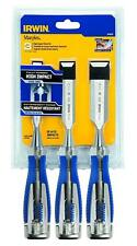 IRWIN Tools Marples High-Impact Chisel Set, 3-Piece (1819362)