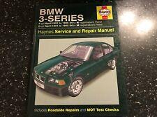 BMW E36 3-SERIES 325i 323i 320i 318i 316e ++ SALOON COUPE 4- 6-CYL HAYNES MANUAL