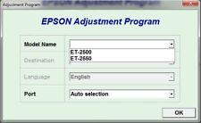 Reset Epson Ecotank  Et-2500, Et-2550 Reset ink pads counter