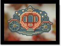 MILL HILL Autumn Harvest Beaded Cross Stitch Kit - PRINCESS CARRIAGE - MH18-4202