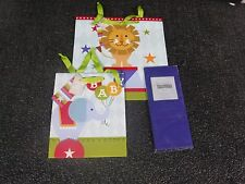 BABYS BIG TOP  GIFT BAGS VARIOUS SIZE BAGS (MJ)