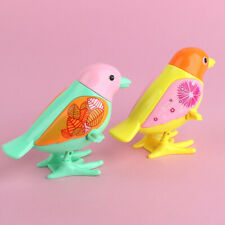 Cute Bird Shape Clockwork Wind Up Toy Kids Early Educational Toy Color Random