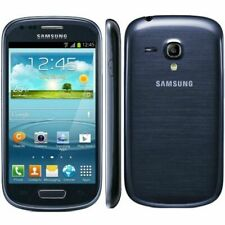 Brand New Samsung Galaxy S3 Mini I8190 - 8GB Blue and White Unlocked - Warranty