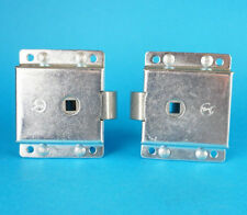 2 x Door Slam Lock Surface Mounted for Trailers & Horse Box