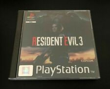 Resident Evil 3 PS4 Fan Custom PlayStation PS1 Style Covers - No Case