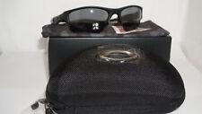 Oakley New Sunglasses Flak Jacket XLJ Matte Black Grey Polarized 11-435