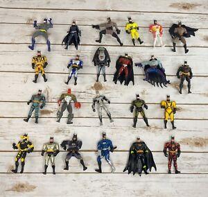 Vintage 90s Kenner Batman Action Figure Collection DC Universe LOT of 23