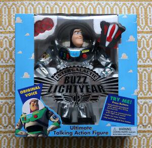 Buzz Lightyear ((Buzz L'éclair) version chrome - Etat neuf