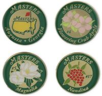 2021 Masters Augusta National Floral Ball Markers Golf Gift Tiger Woods 🐅 ⛳️ 🔥