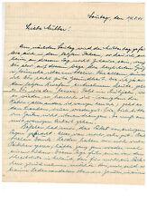1942 Arnhem Netherlands Prisoner Hand Written Letter on Prison Stationery