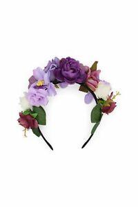 Morgan & Taylor Esmeralda Headpiece in Lilac