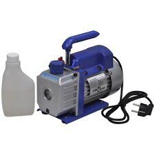 vidaXL 50L/min Vakuumpumpe 1-stufig Unterdruckpumpe Vacuum Pumpe Klimaanlagen
