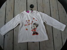 T-shirt manches longues blanc cassé imprimé Minnie BEST OF FRIENDS DISNEY 5 ans